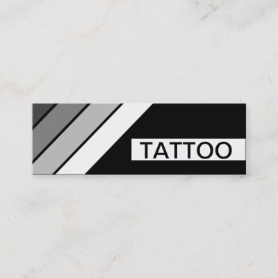 Tattoo art shop business card zazzle reheart Image collections