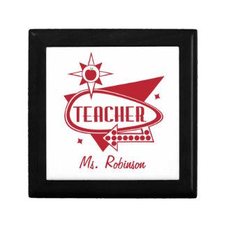Retro Teacher Gift Box