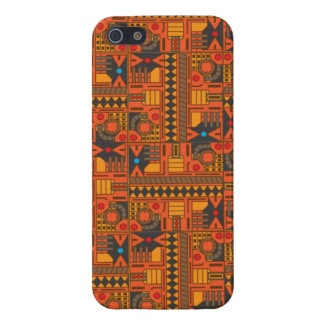 Retro Tech Pattern A Case For iPhone 5/5S