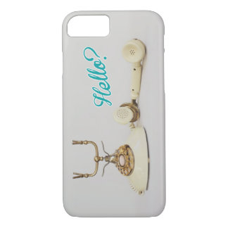 Retro telephone iPhone case