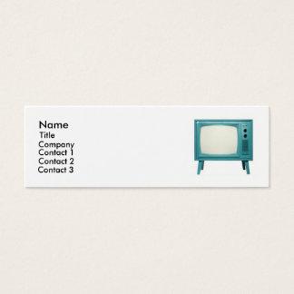 Retro Television Mini Business Card