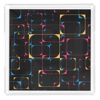 Retro Television Pop Acrylic Tray