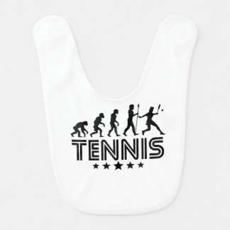 Retro Tennis Evolution Bib