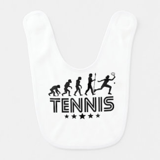 Retro Tennis Evolution Bib
