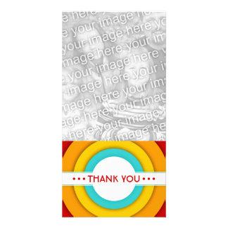 retro THANK YOU Card