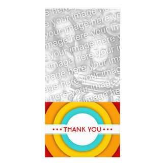 retro THANK YOU Photo Cards