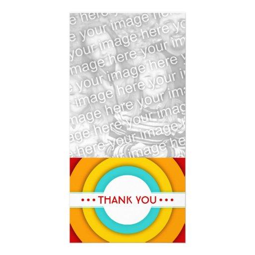 retro THANK YOU Photo Cards