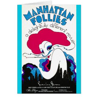 Retro Theater Poster 1979 Card