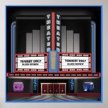 Retro Theatre Poster