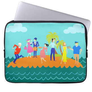 Retro Three Hour Tour Laptop Sleeve