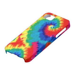Retro Tie-dye iPhone 5 Barely There Universal Case