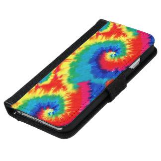 Retro Tie-dye iPhone 6 Wallet Case