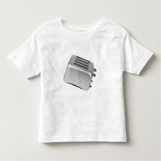 Retro Toaster - Light Grey B&W Toddler T-Shirt