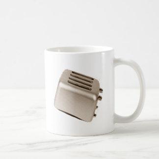 Retro Toaster - Orange Basic White Mug