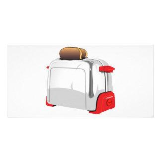 Retro Toaster Photo Greeting Card