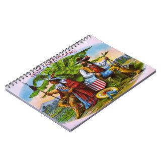 Retro Tobacco 1885 Spiral Notebook