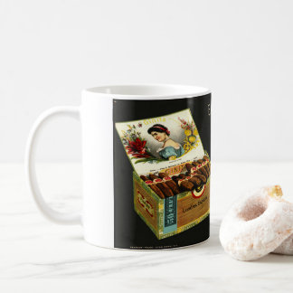 Retro Tobacco Ad 1870 Coffee Mug