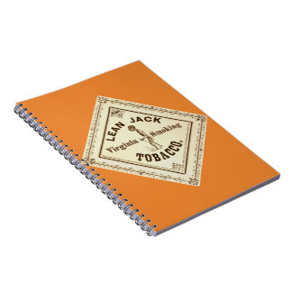 Retro Tobacco Label 1867 a Notebook