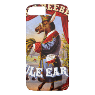 Retro Tobacco Label 1868 b iPhone 8/7 Case