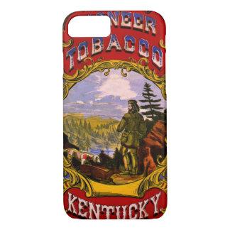 Retro Tobacco Label 1868 d iPhone 8/7 Case