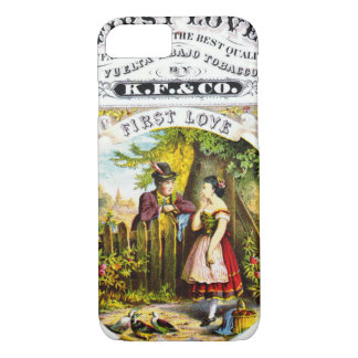 Retro Tobacco Label 1869 d iPhone 8/7 Case