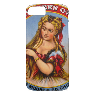 Retro Tobacco Label 1872 a iPhone 8/7 Case