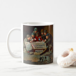 Retro Tobacco Label 1894 Coffee Mug