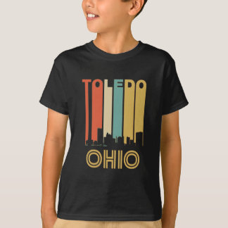 Retro Toledo Skyline T-Shirt