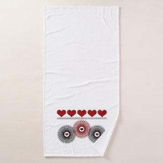 Retro towel set