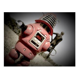 Retro Toy Robby Robot 04 Postcard