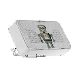 Retro Toy Robot Doodle Speaker
