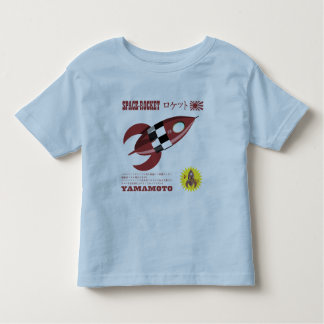Retro Toy Rocket Advertisement Toddler T-Shirt