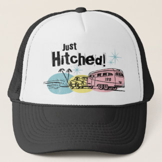 Retro Trailer Just Hitched Hat
