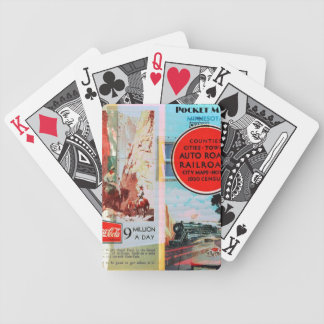 Retro Traveler Bicycle Card Decks
