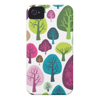 Retro tree nature pattern design blackberry case