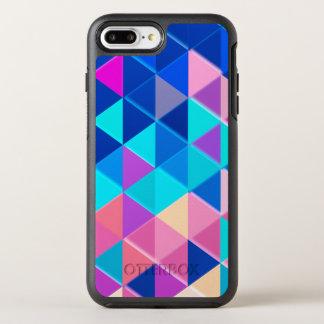 Retro Triangle Pattern OtterBox Symmetry iPhone 8 Plus/7 Plus Case