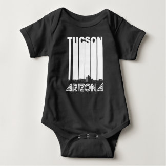 Retro Tucson Arizona Skyline Baby Bodysuit