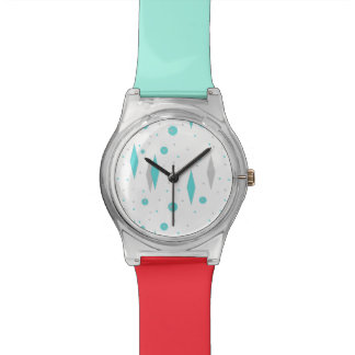 Retro Turquoise Diamond & Starburst May 28th Watch