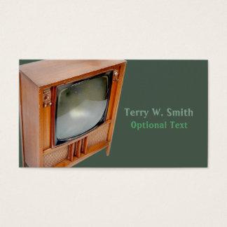 Retro TV Business Card