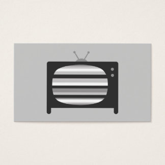 Retro TV Business Cards