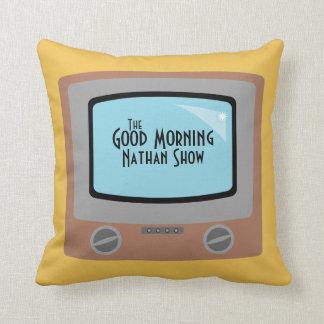 retro TV kids room decor pillow