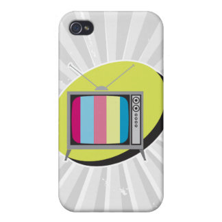 retro tv television cover for iPhone 4