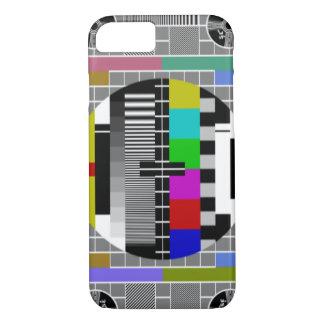 Retro TV Text Pattern iPhone 7 Case