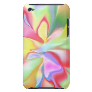 Retro Tye Dye Print iPod Touch Barely There Case iPod Touch Cases