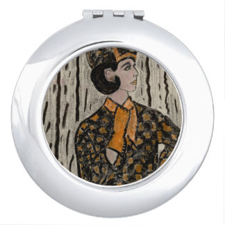 RETRO UPTOWN GIRL MIRROR FOR MAKEUP