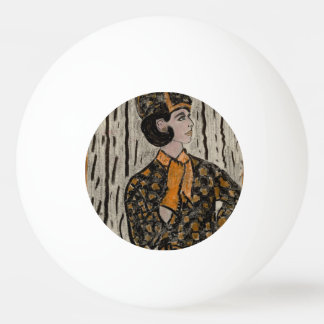 RETRO UPTOWN GIRL PING PONG BALL