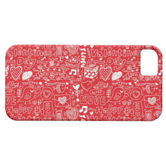 Retro valentine s day cover for iPhone 5/5S