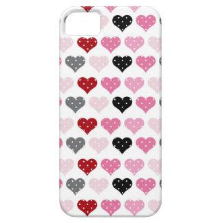 Retro Valentine's Hearts iPhone 5 Covers