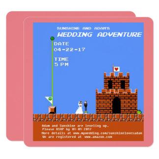 Retro Video Game Card