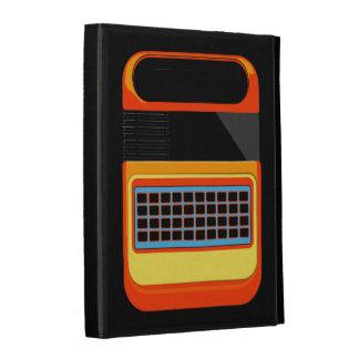 Retro video game motif vintage caseable ipad iPad folio cases